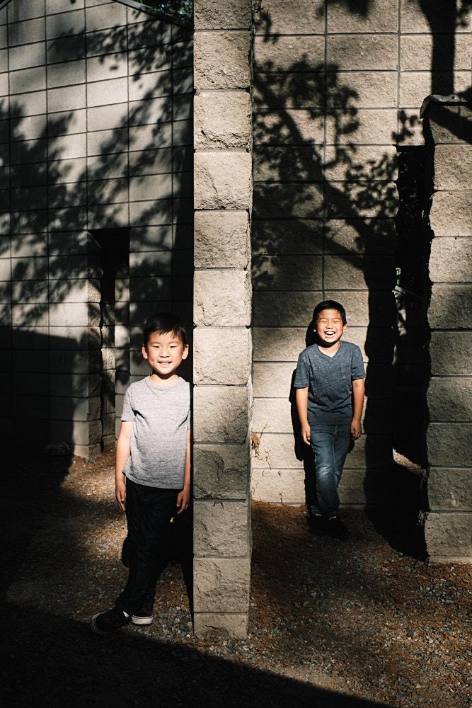 Sam and Jae at Anyang Art Park