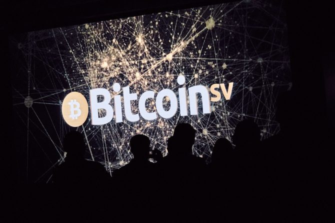 Bitcoin SV Event Logo Screen