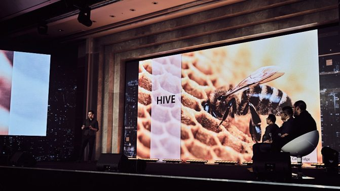 Presentation of Hive - Coingeek Seoul Event Photography