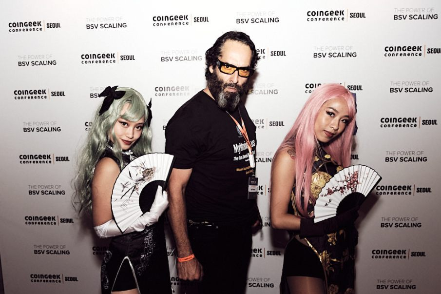 Photo wall - Coingeek After Party