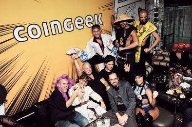 Coingeek Team Photo