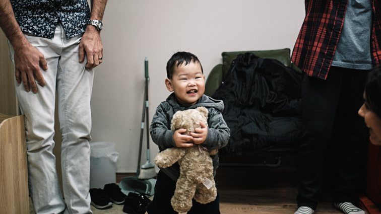 Adoption first meeting in Seoul - First Smile