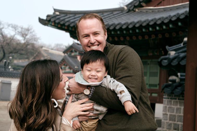 Closeup Swing - Cadwell Family Portraits