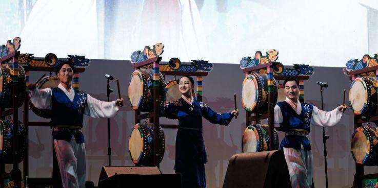 Korean Drumming Performance