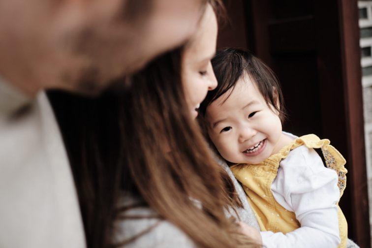 Adoptive Family Photography Seoul