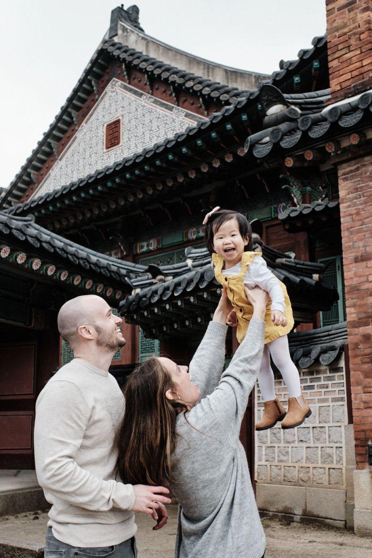 Seoul Palace Family Photography