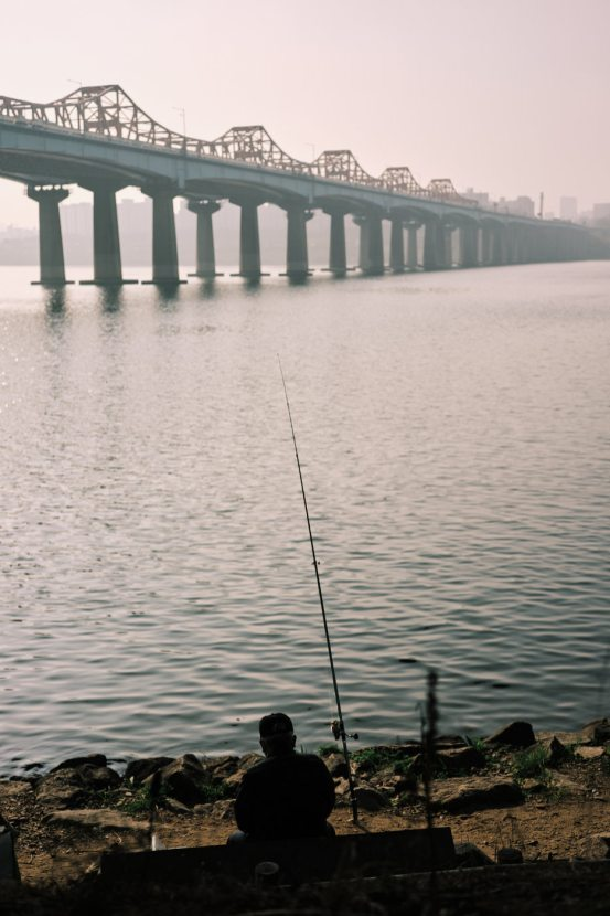 Fishing on the Han River