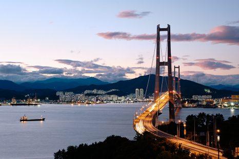 Gwangyang Bridge - Seomjin River Park