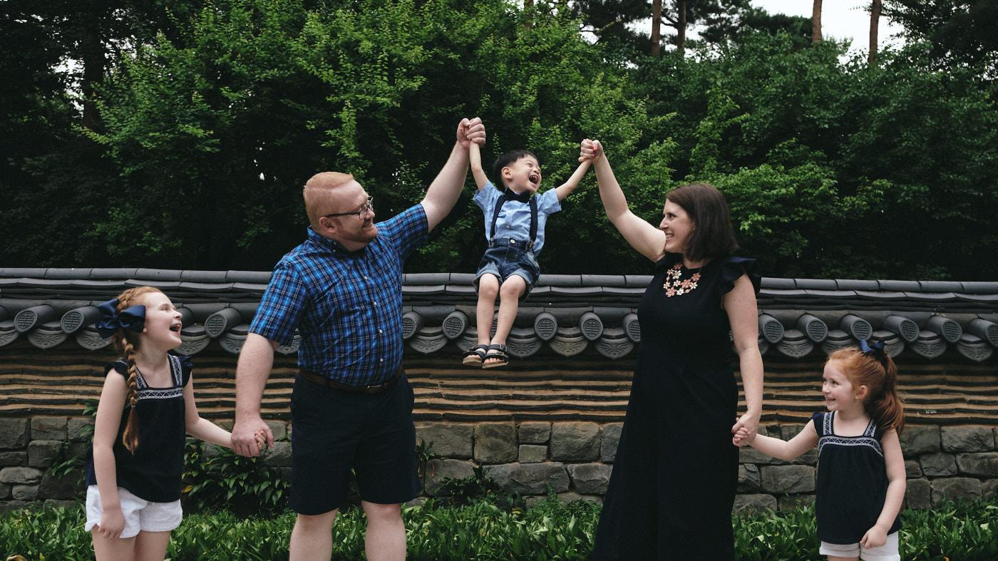 Legg Family Portrait