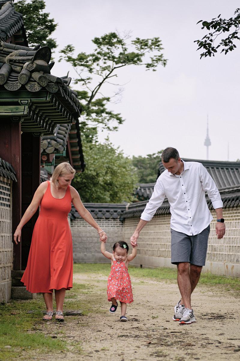 Alexander Family Post Custody Portrait - Walk Together