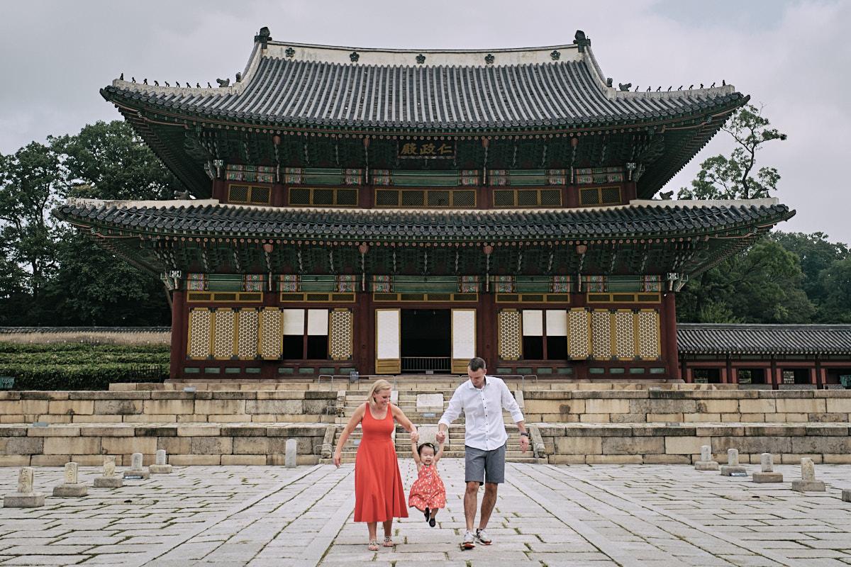 Alexander Family Post Custody Portrait - Palace Main Building