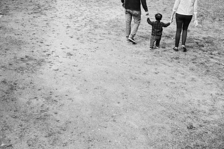 A family Walk - Photo Shoot in Seoul