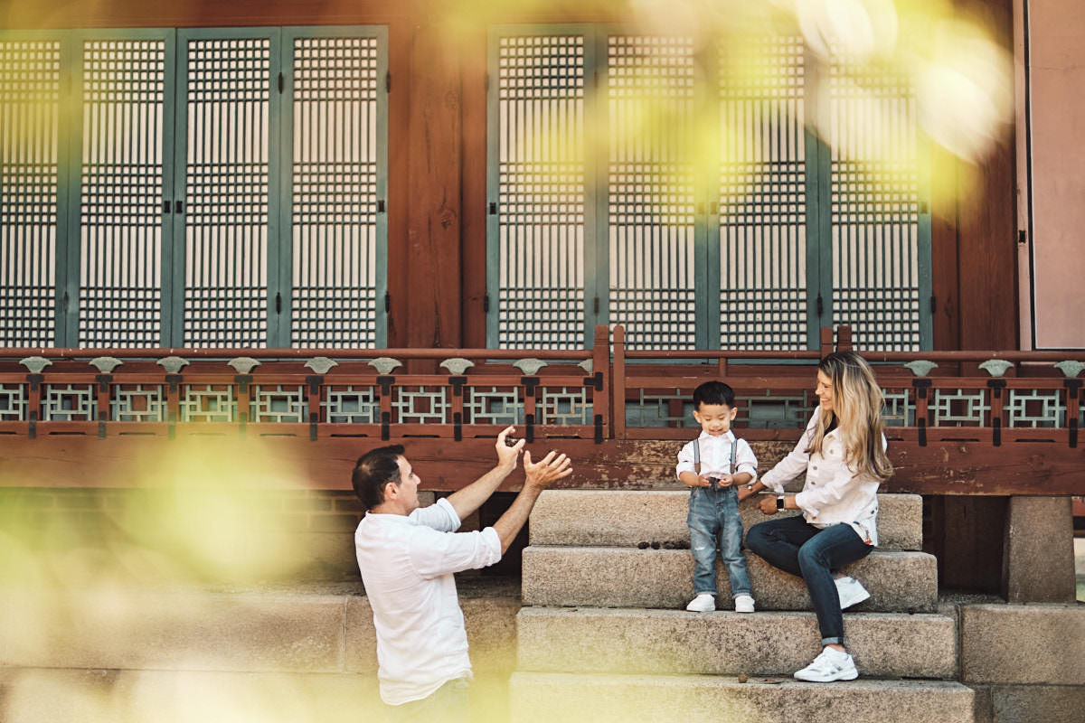 Catch - Michas Post-Custody Family Photos