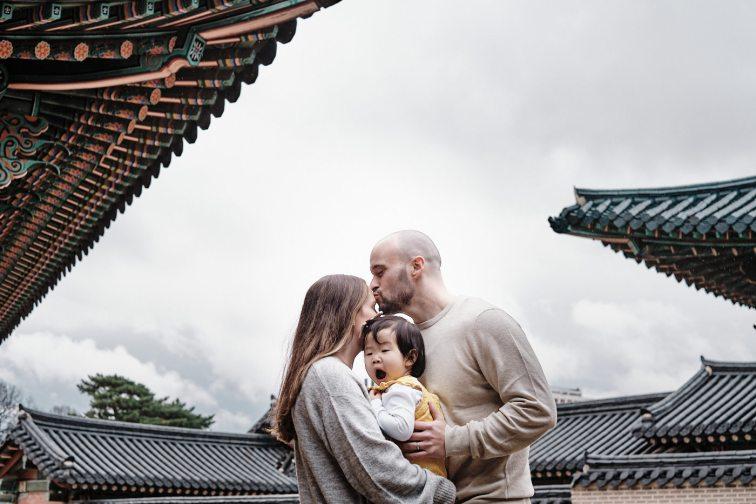 Osbeck Family Photo Shoot - Changdeokgung, Seoul, Korea