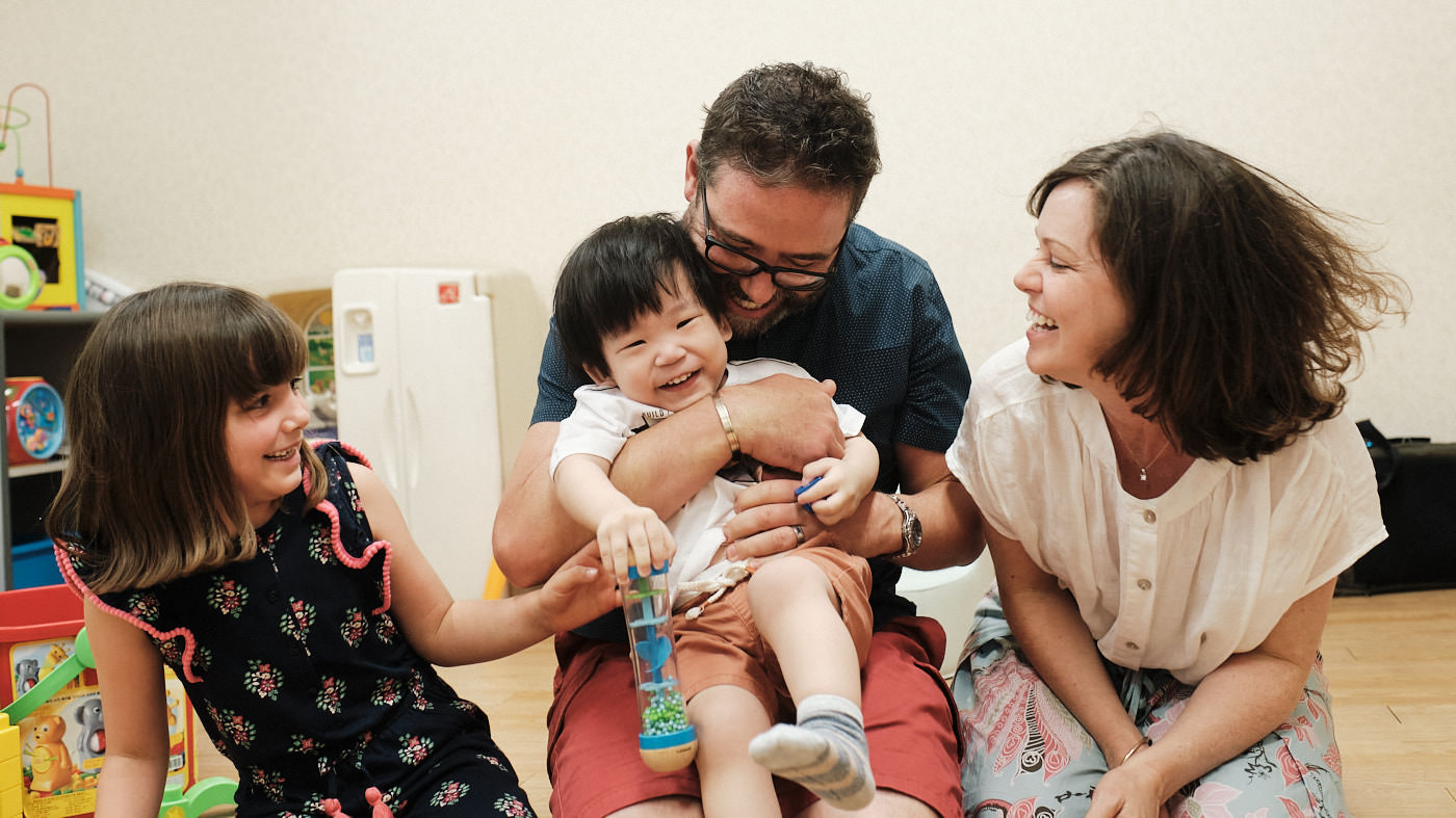 Adoption First Meeting Photography - Seoul, Korea