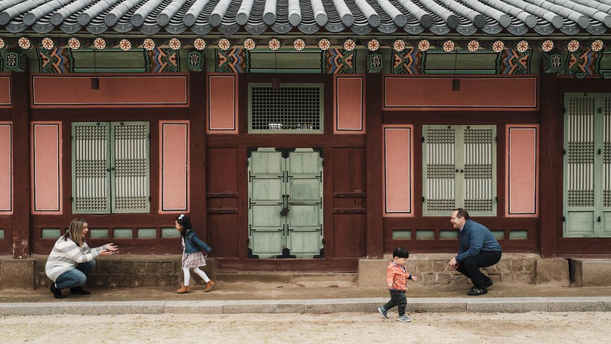 Family Photos in Seoul