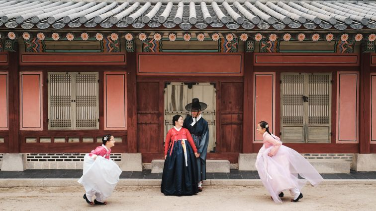 Hanbok Family Photography - Seoul, Korea