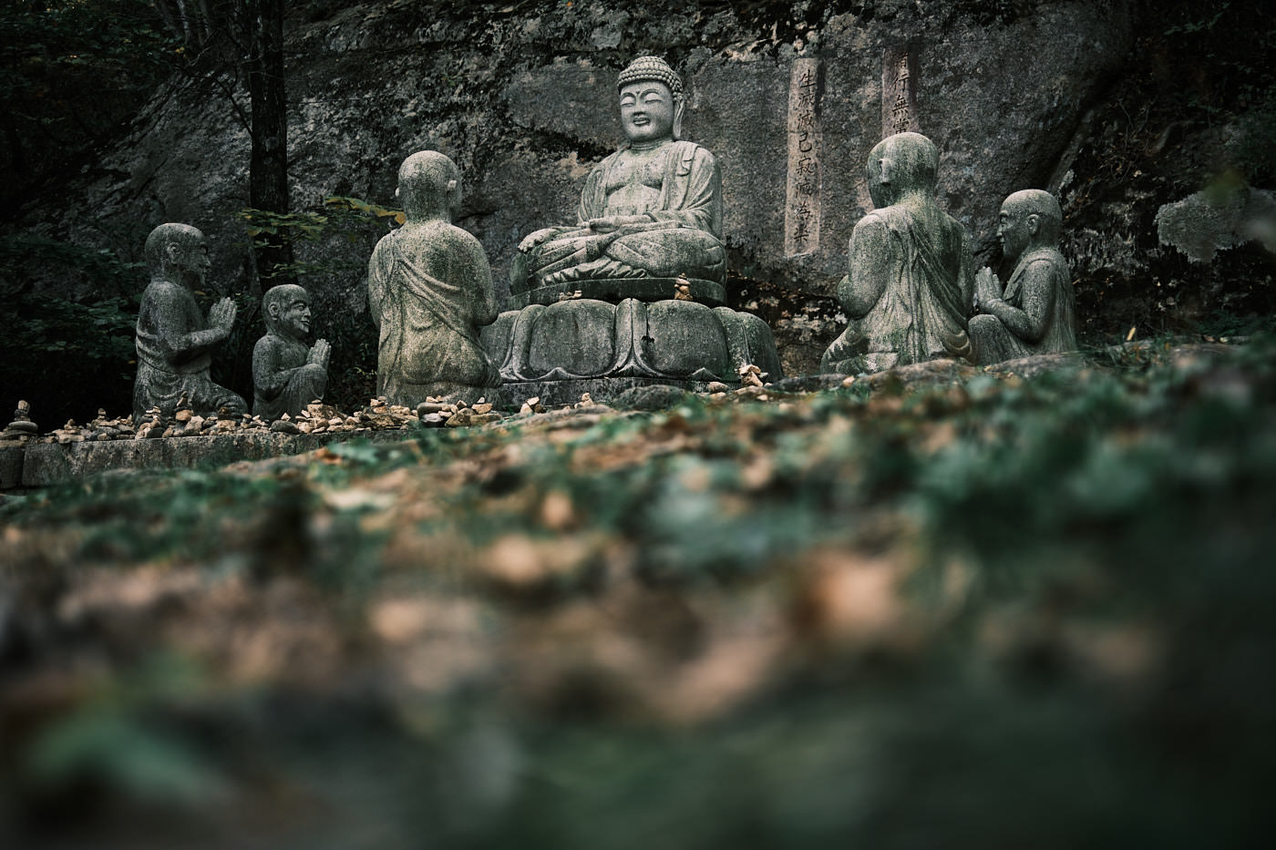 Buddha Statues - Seoraksan