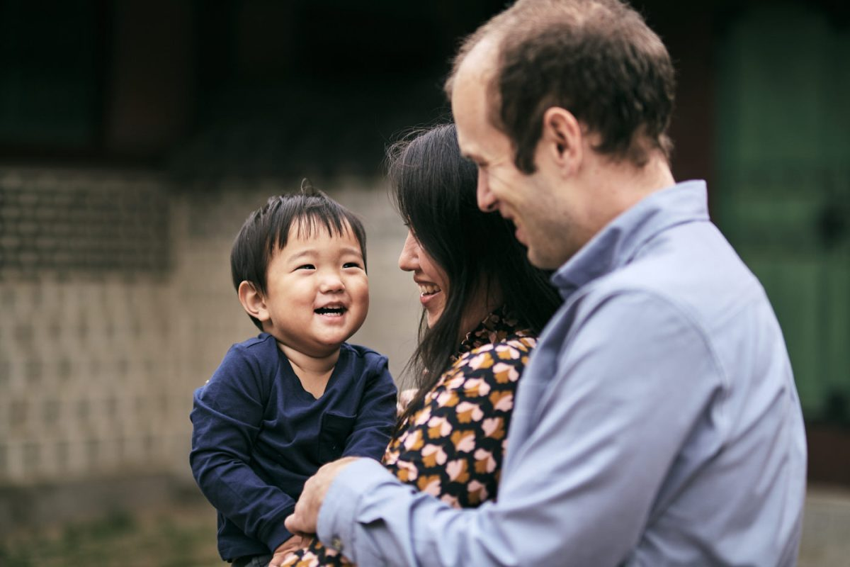 Young Family Portraits - Seoul