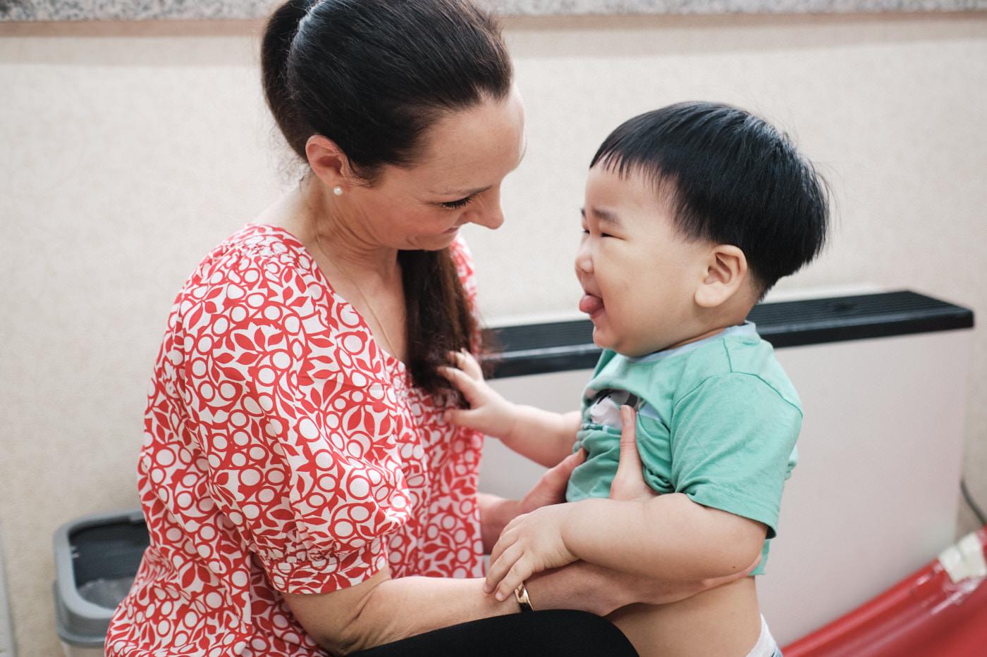 Brennan First Meeting - Seoul Adoption Photography