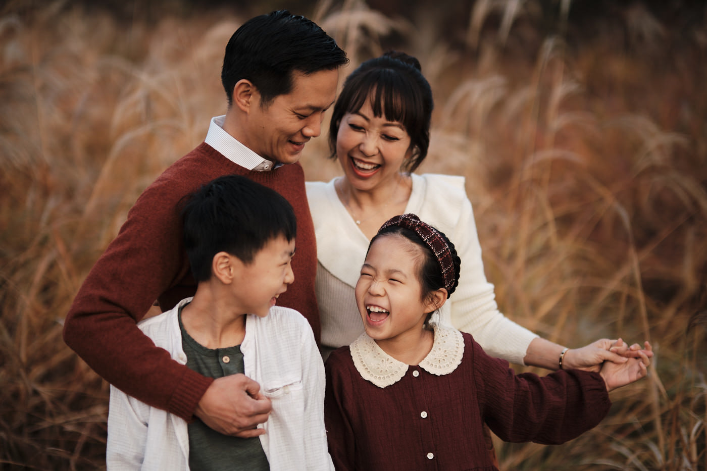 Autumn Family Photography - Seoul Forest Park