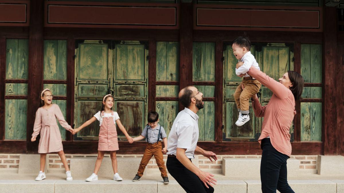 Dearman Family Photos - Seoul, Korea