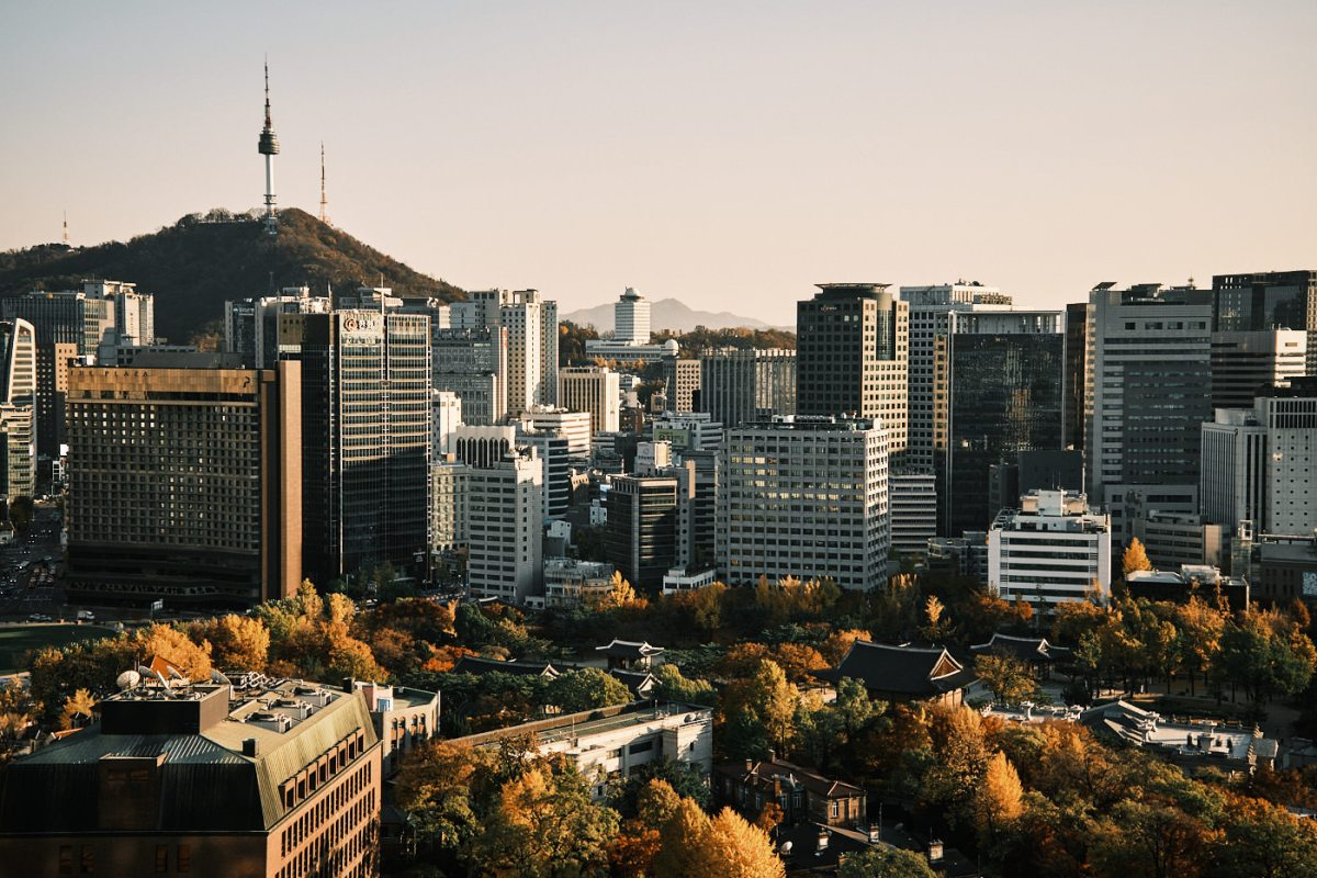 Seoul Rooftopping - Gwanghwamun