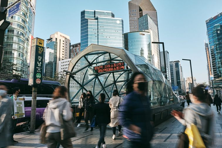 Gangnam Station Entrance
