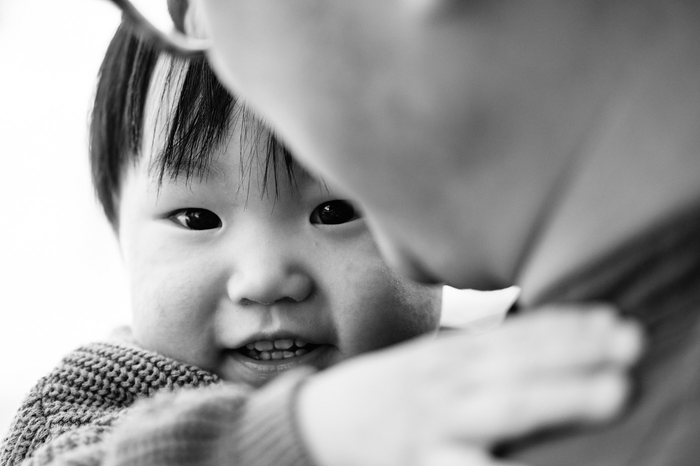 Peek-a-boo - Family Photographer in Seoul