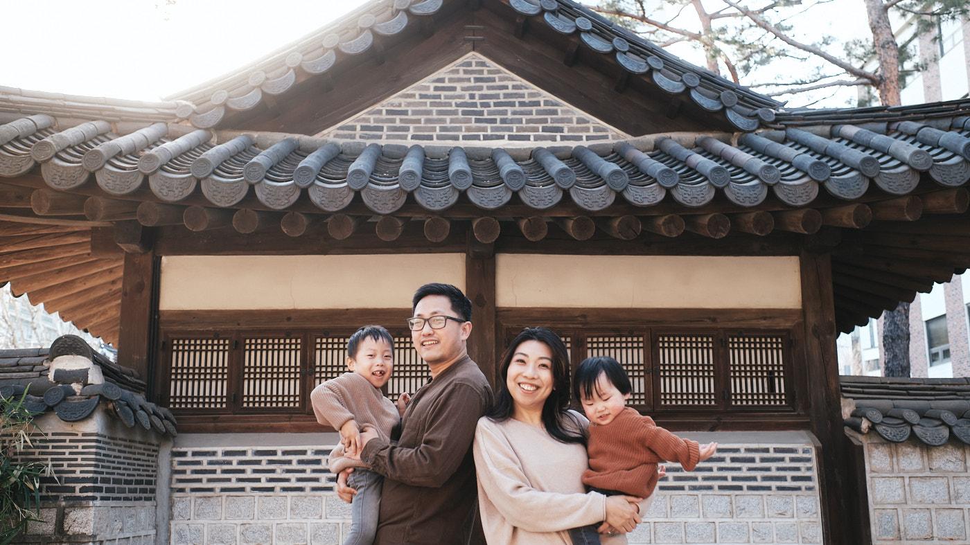 Escape - Korea Family Photographer