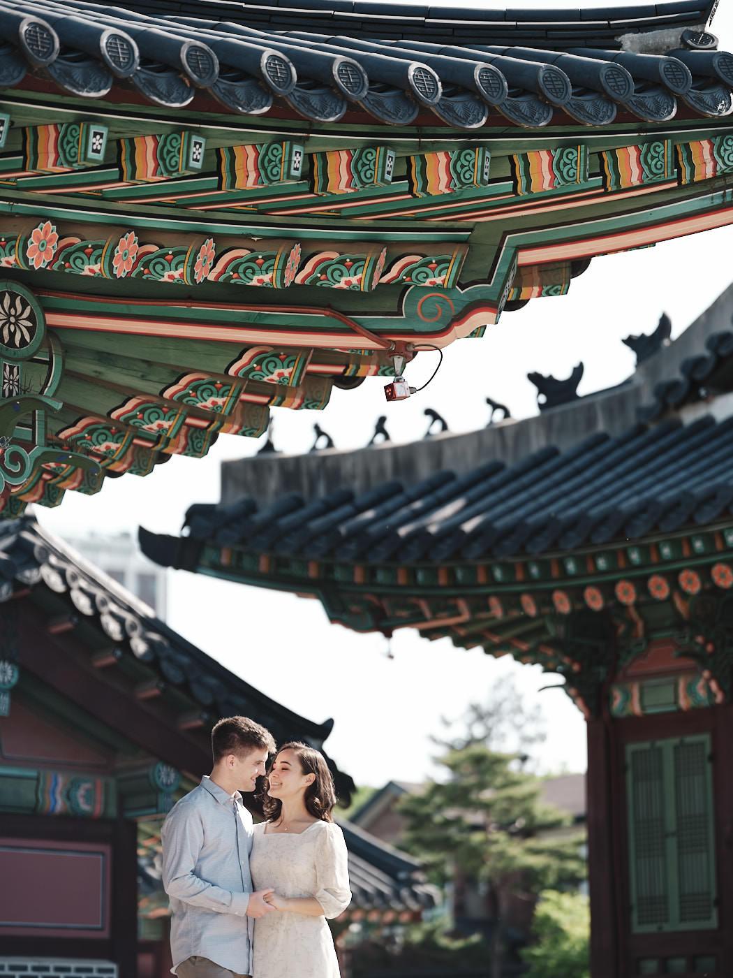 Couple Photography, Seoul Palace