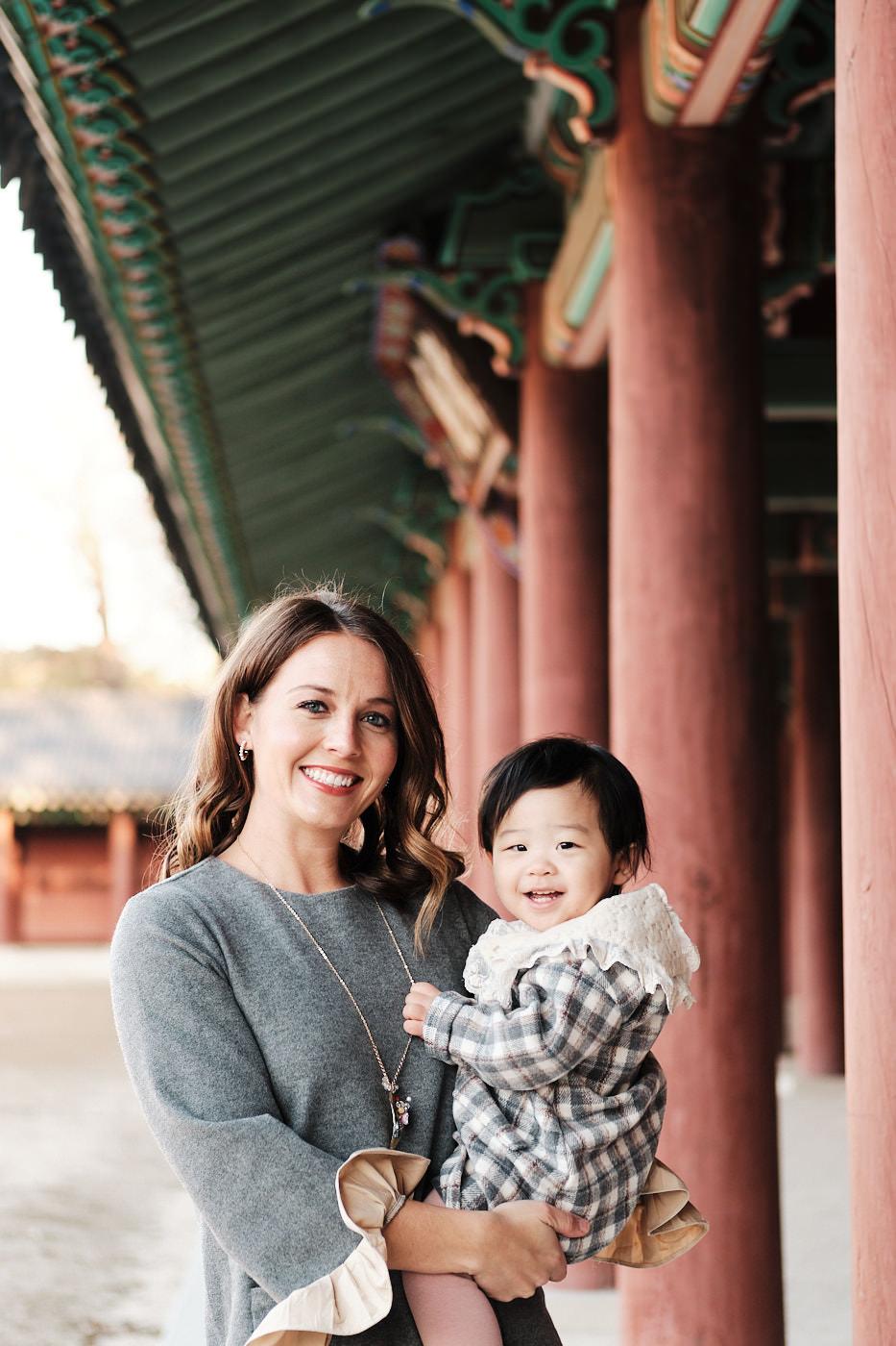 Venneman Family Photoshoot - Changdeokgung