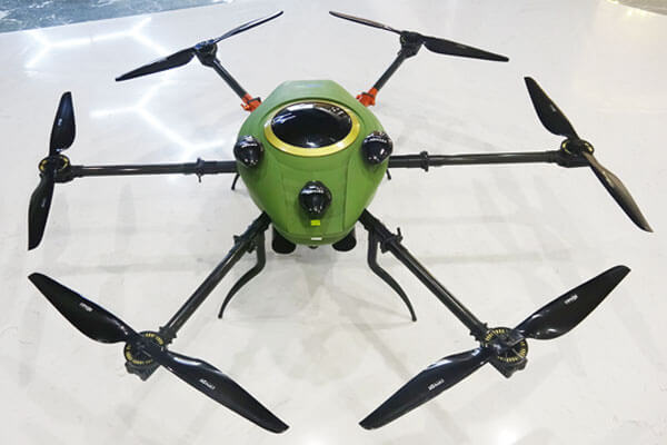 Gas-Electric Hybrid uav