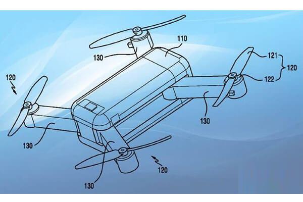 samsung new drone patent