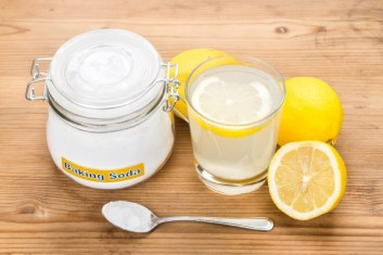 Image result for Baking soda with lemon juice