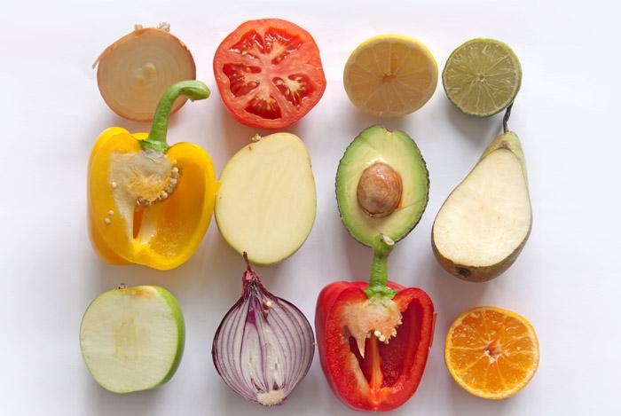 veggies fruit sliced half - LOVE HANDLES SNEL GEZOND AFVALLEN WAT ZIJN LOVE HANDLES?