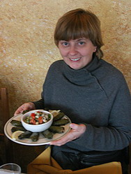 (chrys) and her dolma