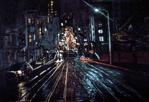 California Mason San Francisco Painting