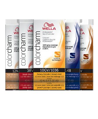 Permanent Liquid Toners Color Charm By Wella Professionals