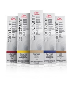 Wella color charm also permanent gel by professionals rh