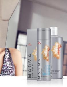 Wella professionals magma by blondor fashion forward demi permanent hair colour also pigmented lightener rh