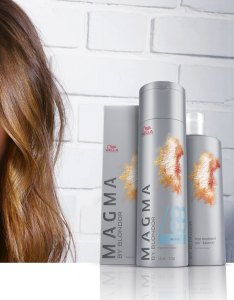 Wella professionals magma by blondor fashion forward demi permanent hair color also pigmented lightener rh