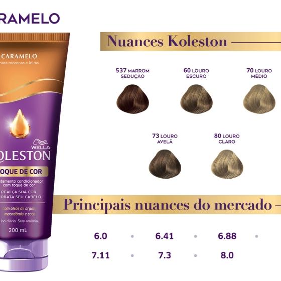 Wella Koleston Toque De Cor Caramelo Wella