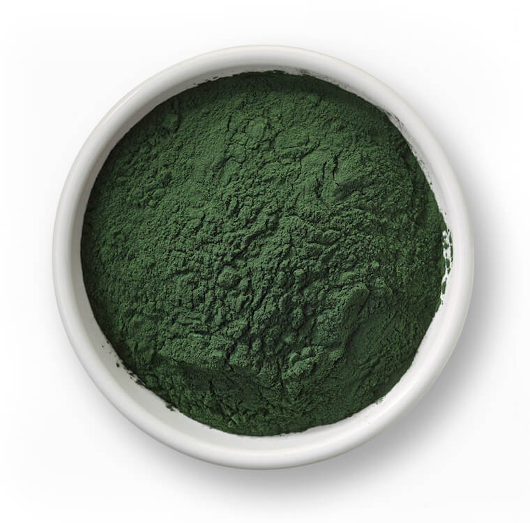 spirulina Blue-green algae