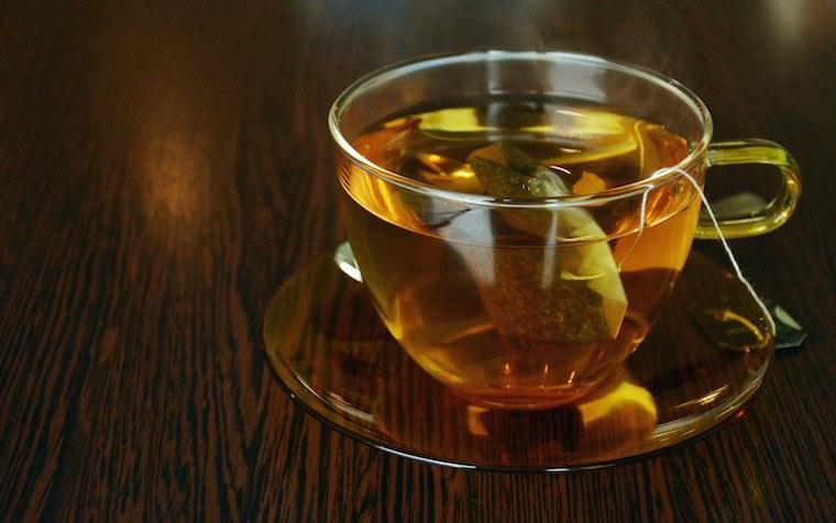 Lee Holmes ginger tea tonic