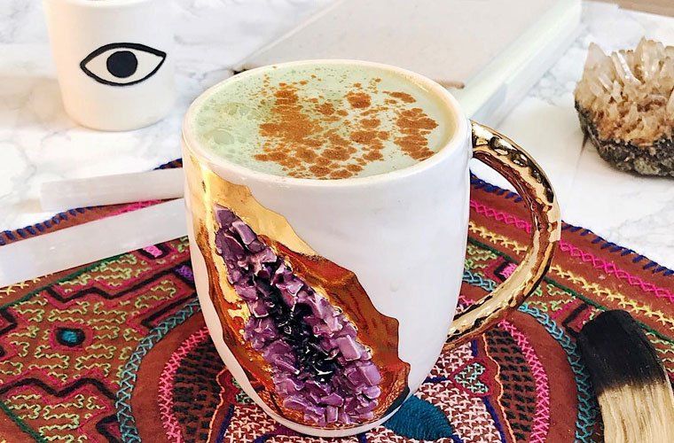 Moringa latte recipe for caffeine-free fuel