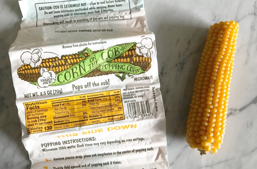 trader joe s popcorn from the corncob