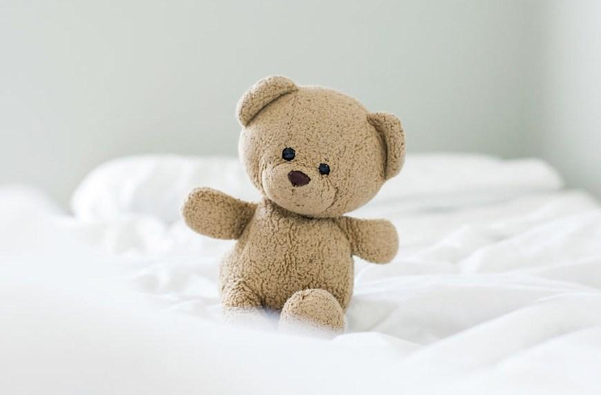 adults sleeping with stuffed