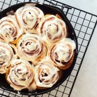 This homemade cinnamon roll is the real breakfast of champions