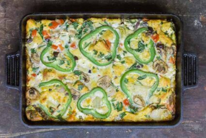 10 Vegetarian Casseroles So Full of Fiber and Protein They're All You Need On the Table